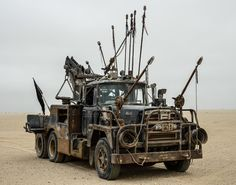 This ferocious truck is not only imposing to look at, but causes a fair amount of damage in the film.