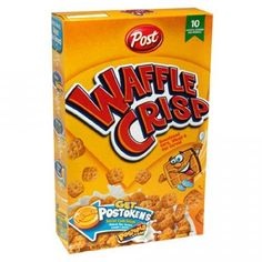 Probably my favorite cereal EVER.