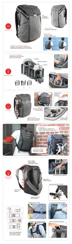 The Everyday Backpack, Tote, and Sling by Peak Design — Kickstarter