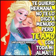 ♥ ♡(∩o∩)♡ Sisters, Wisdom, Words, Inspirational, Fictional Characters, Birthday, Truths, Girlfriends, Te Amo