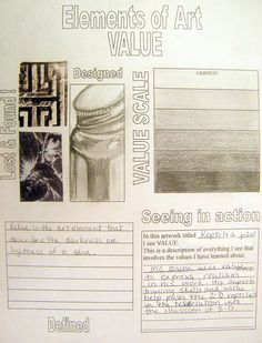 Great site for Art Element Working Worksheets