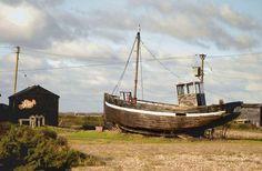 Vintage fishing boats | Old Fishing Boat at Dungeness (C) John Mavin :: Geograph Britain and ...
