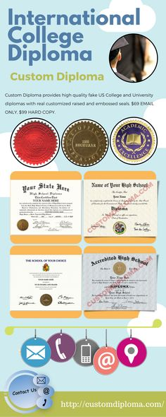 Custom Diploma helps you to create your own fake international - copy certificate picture