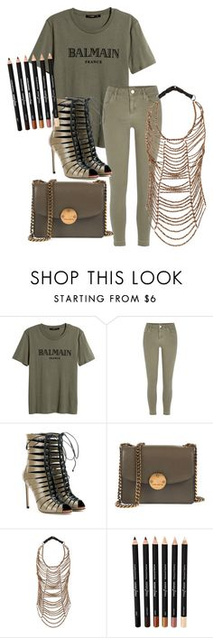 """""""Untitled #10"""" by ambalowe ❤ liked on Polyvore featuring River Island, Francesco Russo, Marc Jacobs and Brunello Cucinelli"""