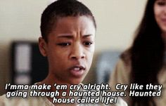 Image result for poussey oitnb memes