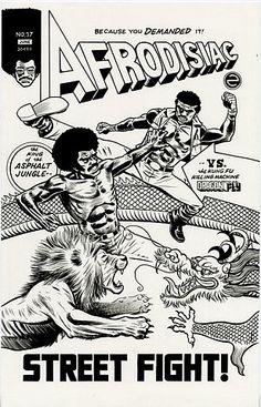 Flickr Photo Download: Afrodisiac vs. Dragonfly original art