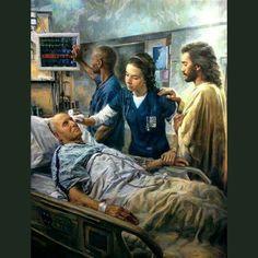 """""""The Healer"""" by Nathan Greene Jesus. Jesus the only healer! Images Du Christ, Images Bible, Jesus Art, God Jesus, Image Jesus, Jesus Pictures, Jesus Pics, Nurse Life, Nurse Humor"""