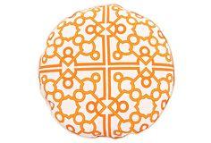 Tangerine Tango Pillow
