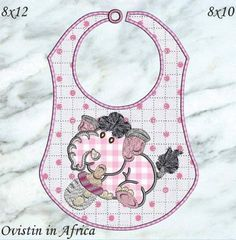 Bottle Babies Bibs Large and Small Baby Bottles, Baby Bibs, Applique, Babies, Crafty, Embroidery, Sewing, Kids, Animals