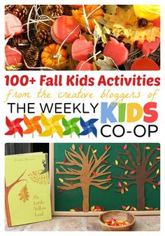 Tons of Fall Activities for Kids from The Weekly Kids Co-Op - #kids #parenting