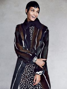 Joan Smalls by Patrick Demarchelier for Vogue US September 2013