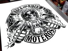Design commission ROCK AND RIDER - SPAIN…2015 !!!