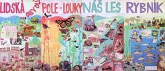 Příroda kolem nás - 3. třída Elementary Science, Art Education, Diagram, Classroom, Map, History, School, World, Painting