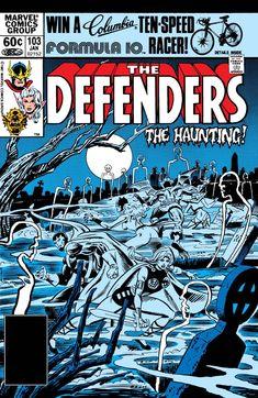 Comic Book Covers, Comic Books Art, Comic Art, Book Art, Defenders Comics, Corporate Crime, Sub Mariner, Silver Surfer, Vintage Comics