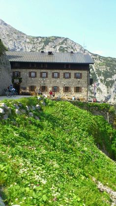 #Karwendelhaus on 1800m in Tyrol, Austria -  perfect biketour