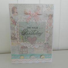 shabby chic birthday card by Pico Crafts