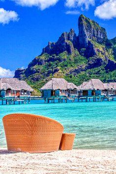 Bora Bora, French Polynesia © A. Vacation Places, Dream Vacations, Vacation Trips, Vacation Spots, Places To Travel, Places To See, Travel Destinations, Tropical Vacations, Bora Bora