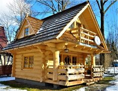 Awesome Tiny Log Cabin Ideas.    http://homesweetcare.co/awesome-log-cabin-small-homes-ideas/
