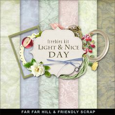 Nueva Freebies Kit - Luz y Nice Day