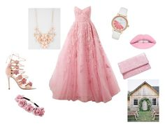 """""""prom by cheyenne"""" by lydia-cassady on Polyvore featuring Zuhair Murad, Marchesa, Kate Spade, Full Tilt, Forever 21 and Boohoo"""