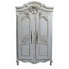 ... Furniture » French Wardrobes » Rococo Antique