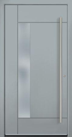 Modern Entry Doors - Modern Entry Door Modern Entry Door, Modern Exterior Doors, Entry Doors, Entrance, Iron Windows, Iron Doors, Modern Windows And Doors, Door Design, House Design