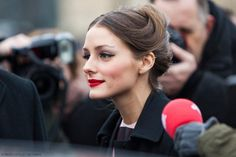 25 Awesome Lip Makeup Designs - Olivia Palermo #makeup More pictures on http://ideasforbeautypic.com/makeup/25-awesome-lip-makeup-designs.html