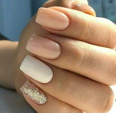 96 Lovely Spring Square Nail Art Ideas – Future nail colors – - Beauty is Art Cute Acrylic Nails, Acrylic Nail Designs, Cute Nails, Pretty Nails, Gorgeous Nails, Squoval Acrylic Nails, Acrylic Gel, Oval Nails, Perfect Nails