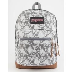 Jansport Right Pack Backpack ($65) ❤ liked on Polyvore featuring bags, backpacks, laptop backpack, vertical-zip laptop backpack, padded laptop backpack, backpack bags and laptop rucksack