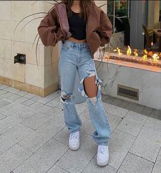 Teen Fashion Outfits, Retro Outfits, Cute Casual Outfits, Simple Outfits, Look Fashion, Stylish Outfits, Fall Outfits, Vintage Outfits, Summer Outfits