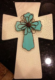 Decorative Cross by DCMarketing on Etsy, $25.00