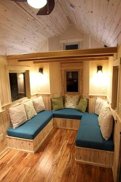 After a week-long stay in a rented tiny house, it is clear to see that tiny homes with lofts can easily accommodate four people and be a fun experience.
