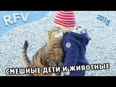 Дети и животные 1 · Приколы с животными 2015 · Cats, Dogs & Cute Babies ...