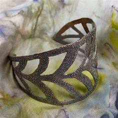 New class on sawing & piercing to make gorgeous cuffs!