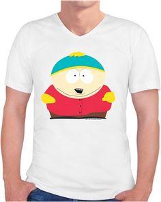 South Park Eric Cartman Kendin Tasarla - Erkek V Yaka Tişört