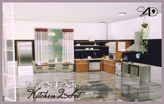 Sims 4 CC's - The Best: Kitchen by Sims 4 Designs
