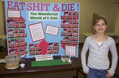 The 10 most adorably sociopathic elementary school science fair projects.