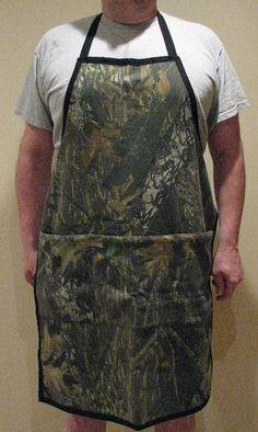 Camouflage Apron Mossy Oak Sweatshirt fabric Full by adfabinidaho, $27.00