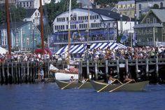 International Dory Races in Lunenburg, Nova Scotia.