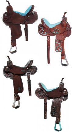 Turquoise Saddles | 10 Turquoise Saddles by Double J