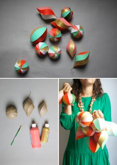 DIY—painted ornaments