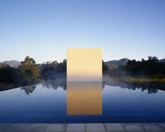 pool-pavillion-forest-napa Love the white edge to define the steps inside the pool