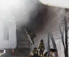 Ken Labelle of Lincoln, RI Local 3023 sent us this photo of a fire featuring members of Warwick, RI Local 2748.