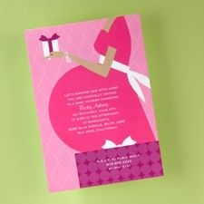 This baby shower invitation is perfect for the mother-to-be. Baby Shower Invitations, Party Invitations, Invites, Pink And Gold Invitations, Pregnancy Announcement Cards, Baby Shower Parties, Shower Party, Baby Showers, Stationery Items