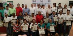 Reconoce el PRI Vallarta a sus militantes por su trayectoria