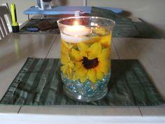 Sunflower centerpiece wedding centerpiece home decor