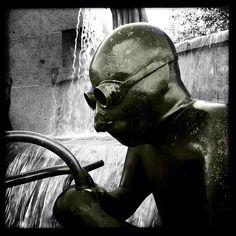 Fountain Repairman - @king_fisher | Webstagram
