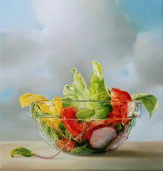 Super Realism Painting by Tyalfa Sparneeya