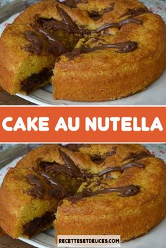Cake Au Nutella, French Toast, Baking, Moment, Breakfast, Food, French Recipes, May, Pastry Recipe