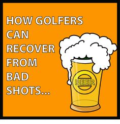 How Golfers Can Recover From Bad Shots. For Procella: http://www.procellaumbrella.com/